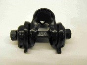 VINTAGE ROADSTER TRADITIONAL BIKE SADDLE CLAMP (SEAT GUTS) COMPLETE ASSEMBLY SADDLE BRACKET BLACK IDEAL BIKE RESTORERS