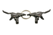 PAIR SHIMANO 27 SPEED DEORE M530 DUAL CONTROL SHIFTERS / BRAKE LEVERS