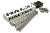 Halo Stainless Steel Plain Gauge 14g With Nipples Spokes - Silver , 224mm