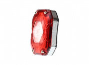 Moon Shield X Auto USB Rechargeble Rear LED Cycle Light 150 Lumen