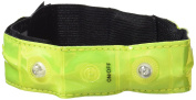 Oxford Bright Plus Wearable Reflective LED Arm/Ankle Band - Yellow, One Size