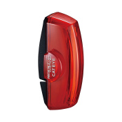 CatEye Unisex Kinetic X2 Rear Lights and Reflectors-Cycling, Black, NO SIZE