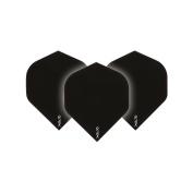 Ruthless Black Xtra Strong Dart Flights - 4 sets per pack