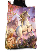 AWESOME UNICORN Fleece Blanket / Throw / Tapestry etc.Official Anne Stokes Offical Merchandise