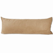 Camel Microsuede Body Pillow Cover Pillowcase with Double Sided Zippers 50cm x 180cm