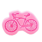 Eworld - Mini Bicycle Silicone Mould - Fondant Sugar Candy Cake Chocolate Decorating Mould