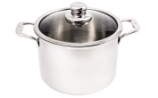 Swiss Diamond Premium Clad Stock Pot w/ Lid - 7.5l.