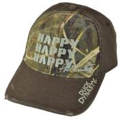 Duck Commander Duck Dynasty HAPPY HAPPY HAPPY Brown/Realtree Max-4 Camo Hat