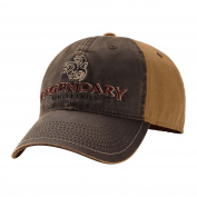 Legendary Whitetails Men's Two-Tone Brown Vintage Buck Cap Brown One Size