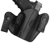 Tagua DSH-1010 S & W SHIELD 9mm/40mm Dual Snap Holster, Black, Right Hand