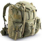 Military Outdoor Clothing Previously Issued US GI OD Alice Complete Pack, OD Green, Large