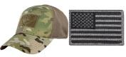 Condor Flex MultiCam Cap Small/Medium + USA FLAG PATCH FOLIAGE GREEN LEFT