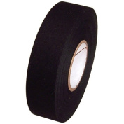 Tape Brothers Cloth Hockey Stick Tape, Several Colours, Black 2.5cm X 25 Yds 3 Pack