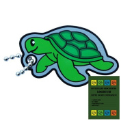 Geo-Versand Sea Turtle Cachekinz Travel Tag with Travel Bug