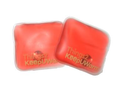 2 x Pocket Hand Warmers - Square Things2KeepUWarm