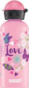 SIGG Kids' Butterfly Love Bottle, Pink, 0.6L