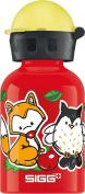 SIGG Kids' Forest Bottle, Red, 0.3