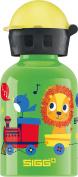 SIGG Kids' Jungle Train Bottle, Green, 0.3