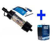 Sawyer Mini Camouflage Water Filter + Hydration Pack Set