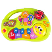 Toddler Learning Machine Toy with Lights Music Songs Learning Stories and More