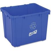 GJO11582 - Genuine Joe 53l Recycling Bin