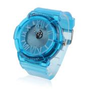 Damara Teens Boy's Silicone Shock Resist Sport Watches,Blue