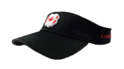 NEW Black Clover Live Lucky BC Style Canada #2 Black/Red Adjustable Visor/Hat