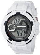 Armitron Sport Men's 40/8385WHT Digital Chronograph White Resin Strap Watch