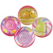 Assorted Candy Design Super Hi High Bounce Rubber Balls