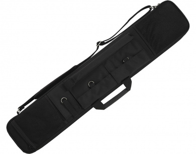 Action Brand ACSC11 2X3 Soft Nylon Pool/Billiard Cue Case - Black