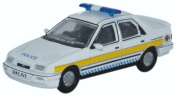 Oxford Diecast 1:76 Scale Ford Sierra Sapphire Nottinghamshire Police