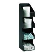 Dispense-Rite VCO-4 Four Section Countertop Vertical Lid/Condiment Organiser