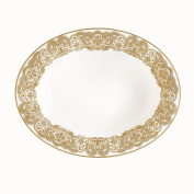WATERFORD Lismore Lace Gold Vegetable dish 24cm
