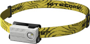 Nitecore nu20 W Adult Unisex Running Head Torch, White