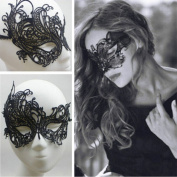 Black Sexy Lace Mask Women Halloween Masquerade Party Costume Cosplay Props New
