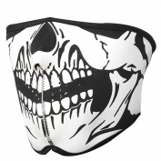 C-Pioneer Striking Skull Neoprene Half Face Mouth Mask Ski Snowboard Motorcycle Protection