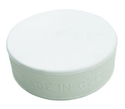 A & R Sports Training Hockey Puck, White