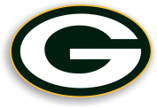 NFL Green Bay Packers 30cm Vinyl Logo Magnet