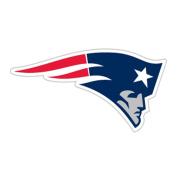 New England Patriots Logo Car Magnet