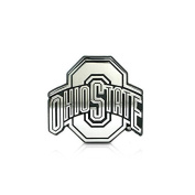 "Ohio State University Buckeyes ""Chrome Plated Premium Metal Emblem"" NCAA College Car Truck Motorcycle Logo"