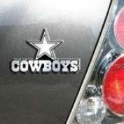 Dallas Cowboys Chrome Car/Auto Team Logo Emblem