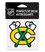 NHL Chicago Blackhawks Official 10cm x 10cm inch Perfect Cut Vinyl Decal