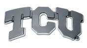 """Texas Christian University (""""TCU"""") Emblem"""