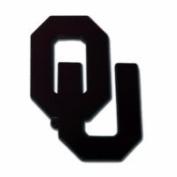 "University of Oklahoma (""OU"") Emblem - Black"