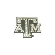 Premium Crystal Texas A & M Auto Emblem