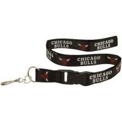 Chicago Bulls Black Lanyard