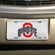 OHIO STATE BUCKEYES Super Stock Metal Licence Plate 6 x 12