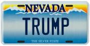 Donald Trump Las Vegas Nevada Licence Plate