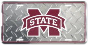 Mississippi State Diamond Licence Plate Tin Sign 15cm x 30cm