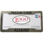 Oregon State Beavers Alumni Chrome Plastic Licence Plate Frame